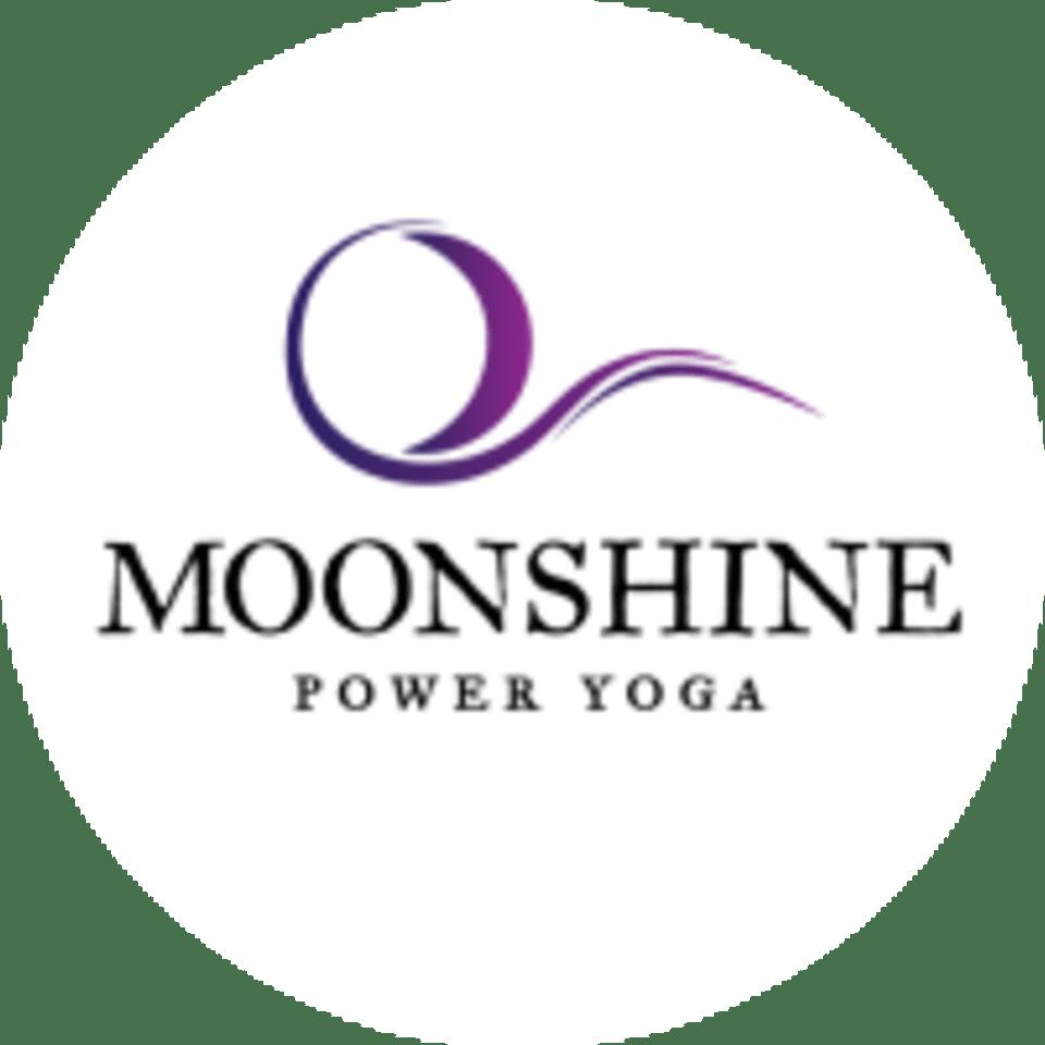 Moonshine Power Yoga logo