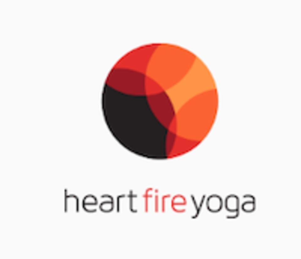 heart fire yoga logo