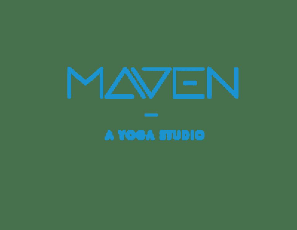 Maven Yoga logo