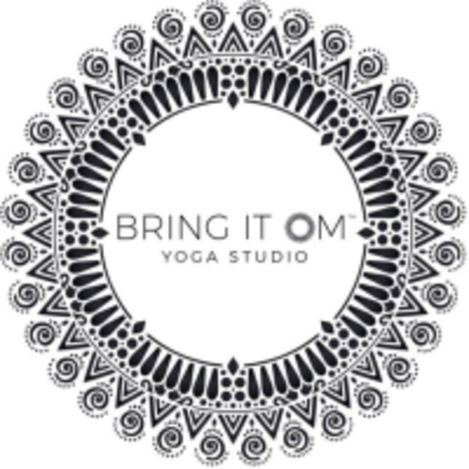 Bring It OM Yoga logo