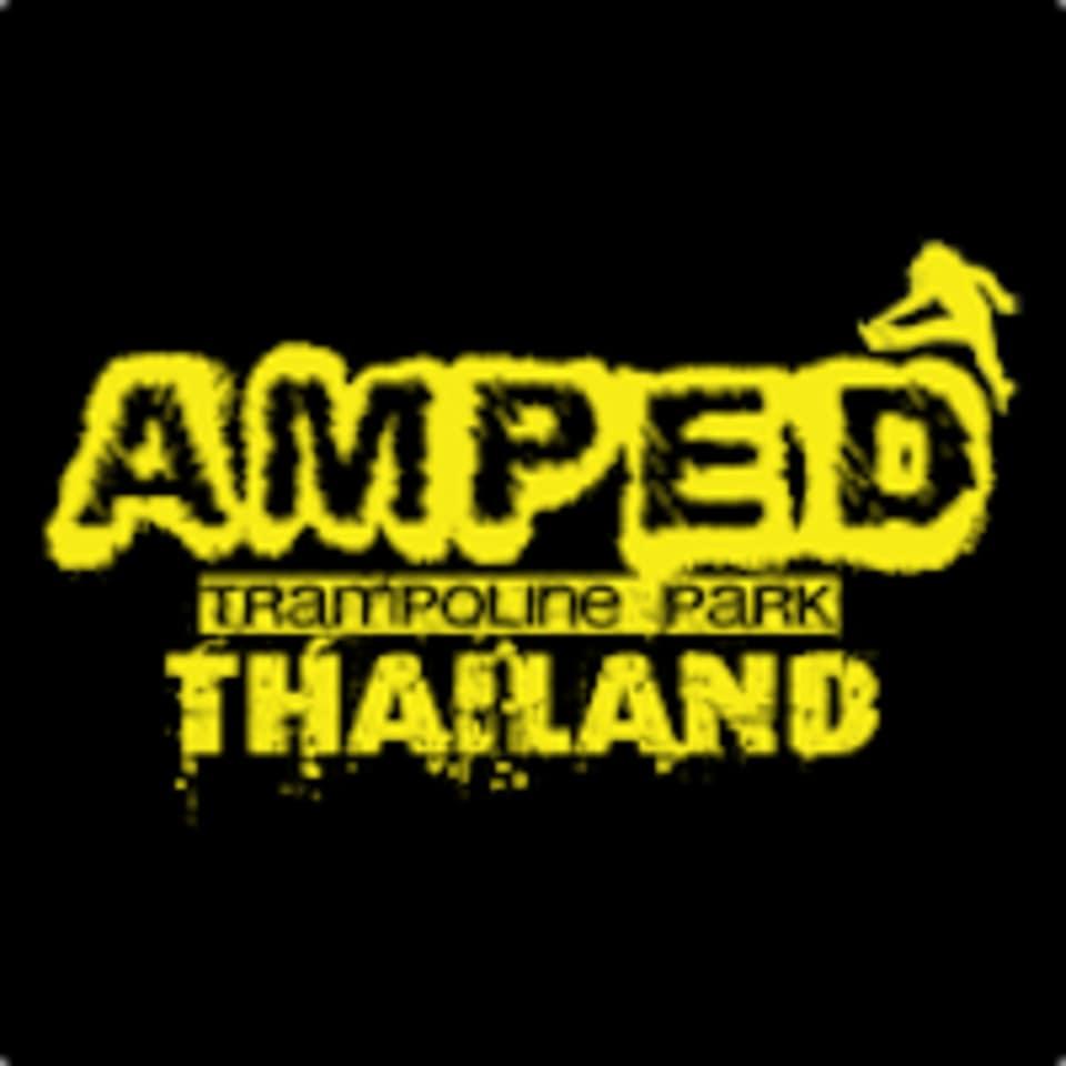 AMPED Trampoline Park  logo