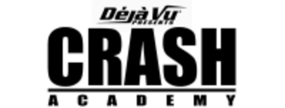 Deja Vu Presents Crash Academy logo
