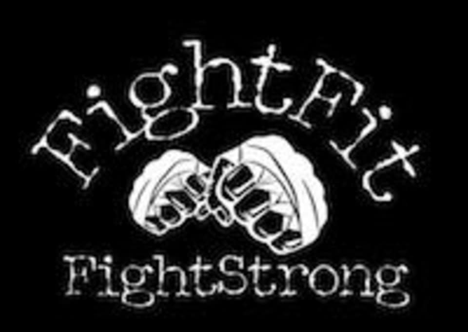 FightFit FightStrong Kickboxing logo