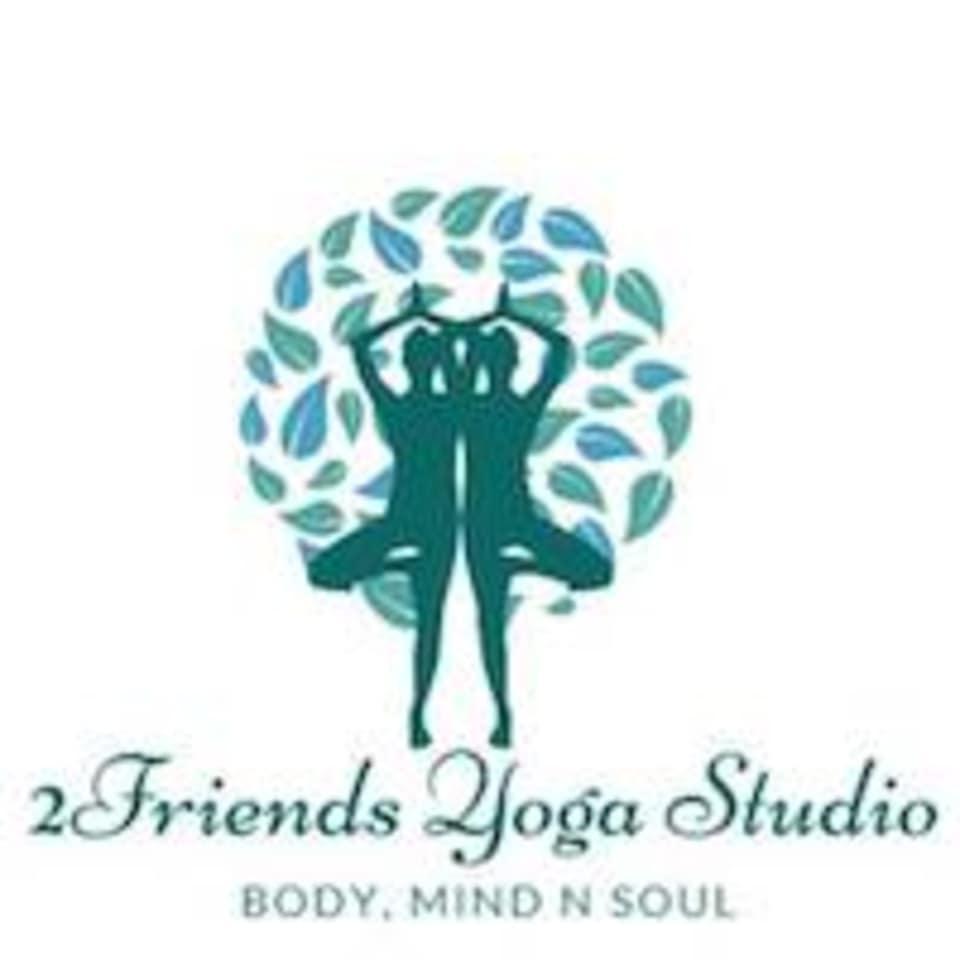 2Friends Yoga logo