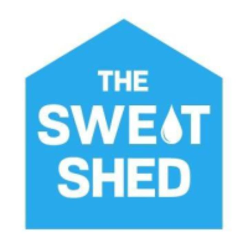 The SweatShed logo