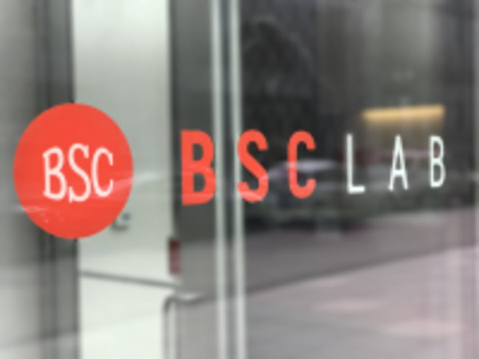 BSC Lab (featuring BFX) logo