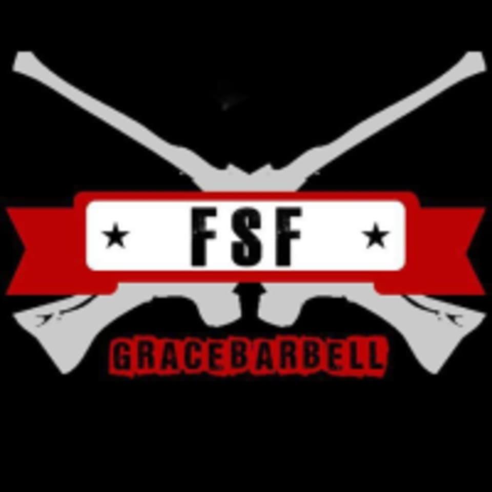 Field Strip Fitness by Grace Barbell logo