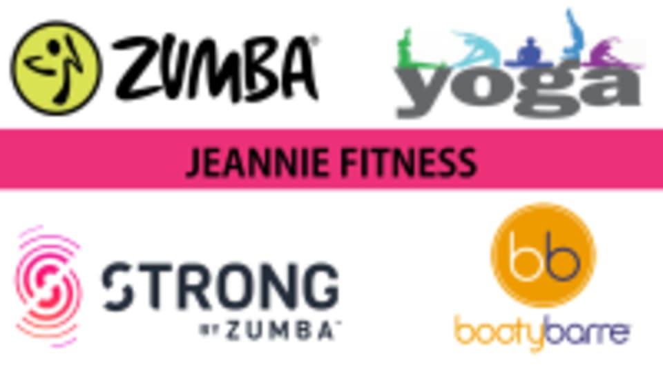 Jeannie Fitness logo