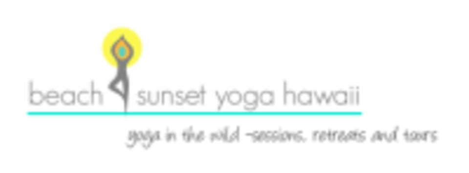 Beach Sunset Yoga Hawaii logo
