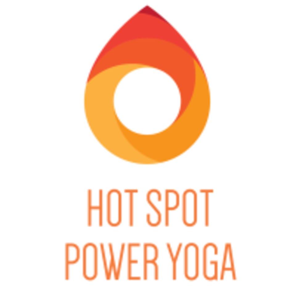 Hot Spot Power Yoga  logo