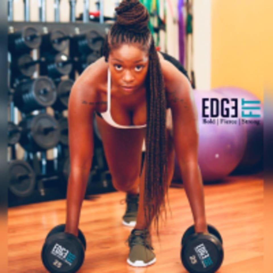 Edge Fit Live  logo
