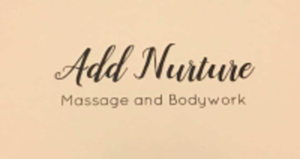 Add Nurture Massage and Bodywork logo