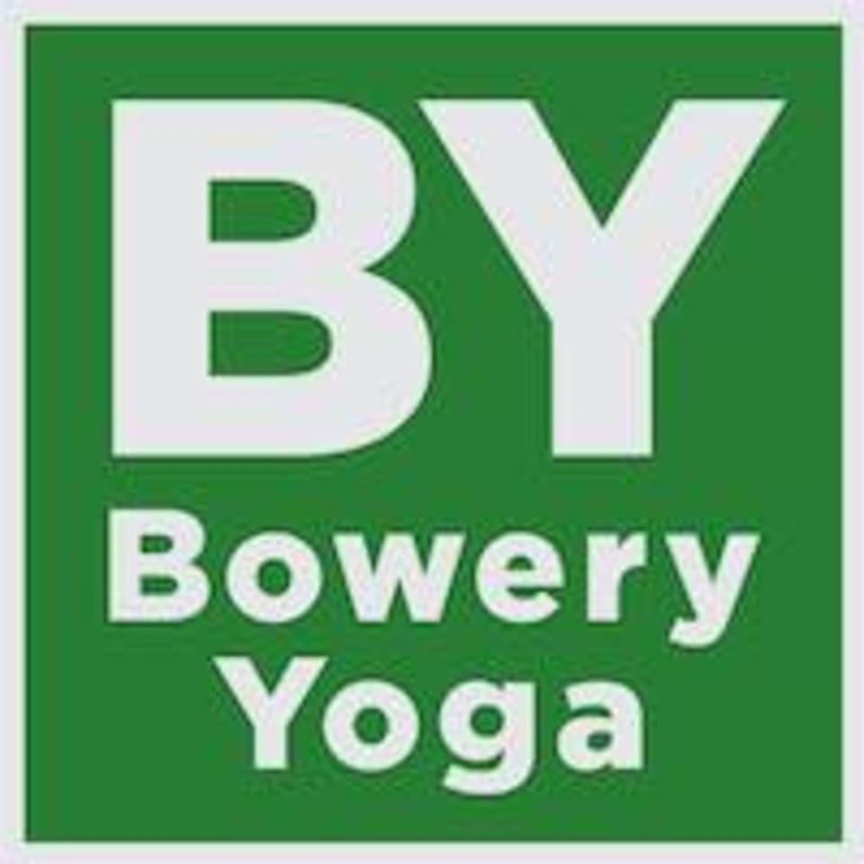Bowery Yoga  logo
