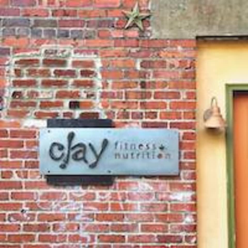 Clay Fitness logo