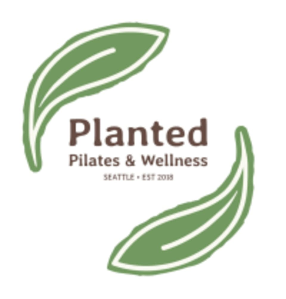 Planted Pilates & Wellness logo