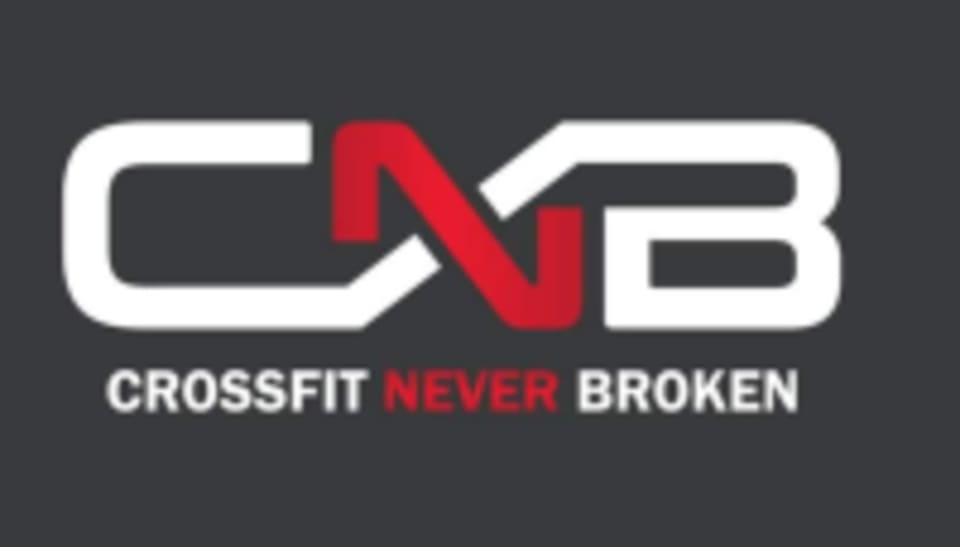 CrossFit Never Broken  logo