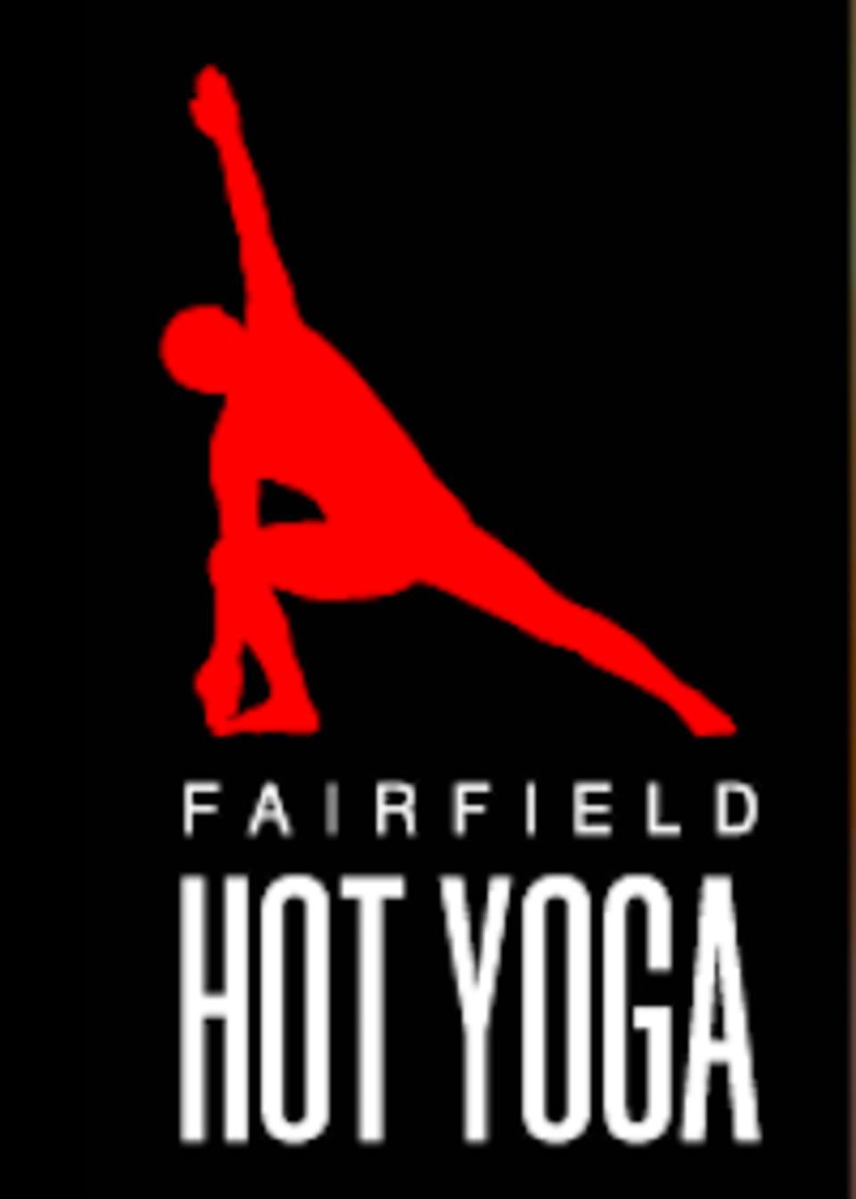 FAIRFIELD HOT YOGA logo