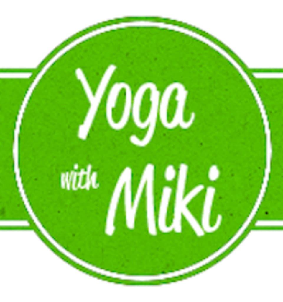 Yoga with Miki logo