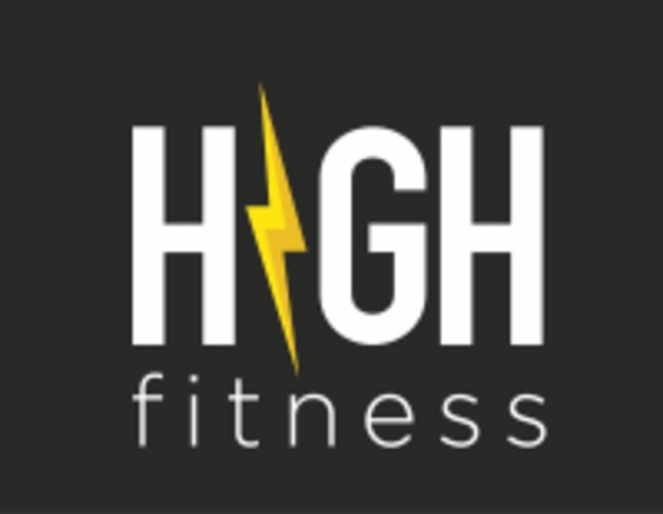 HIGH Fitness  logo