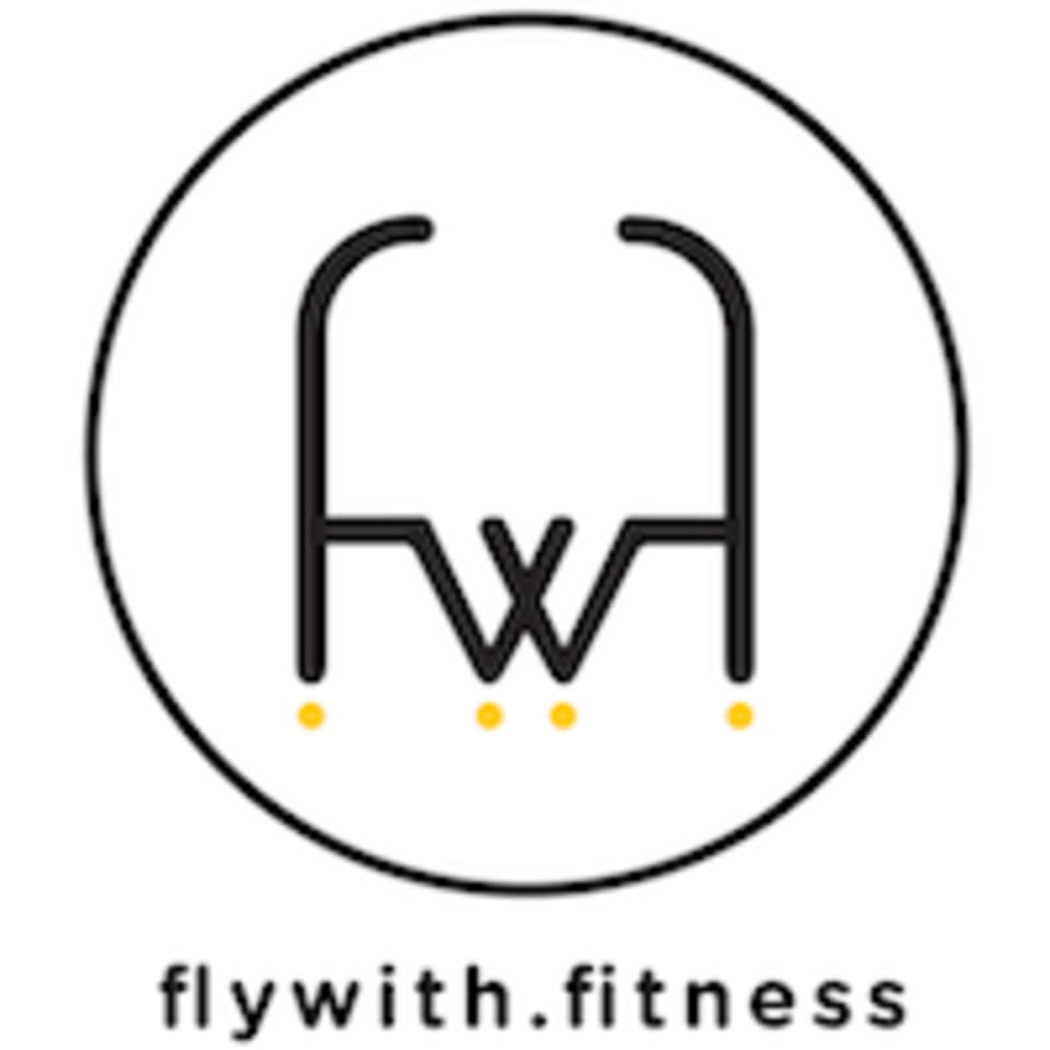 FlyWith Fitness - Woodleigh logo