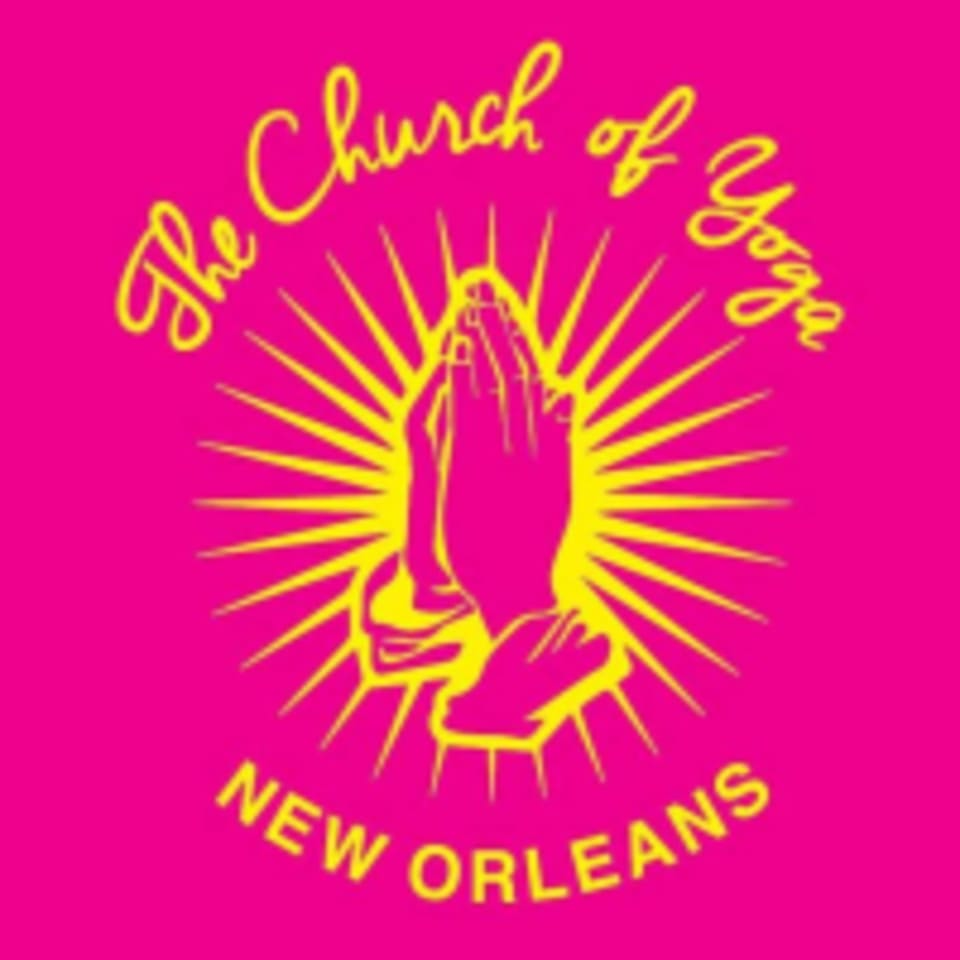 The Church of Yoga By Laughing Lotus  logo