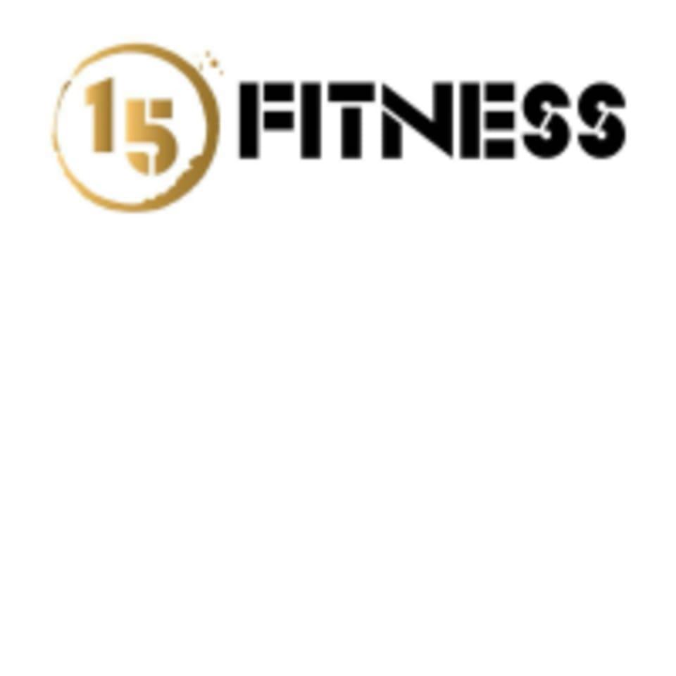 15 Fitness logo