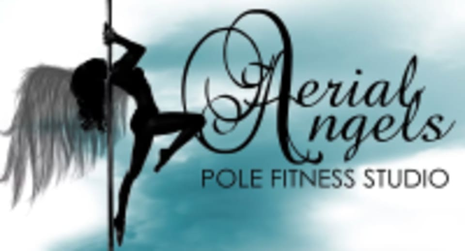 Aerial Angels Pole Fitness  logo