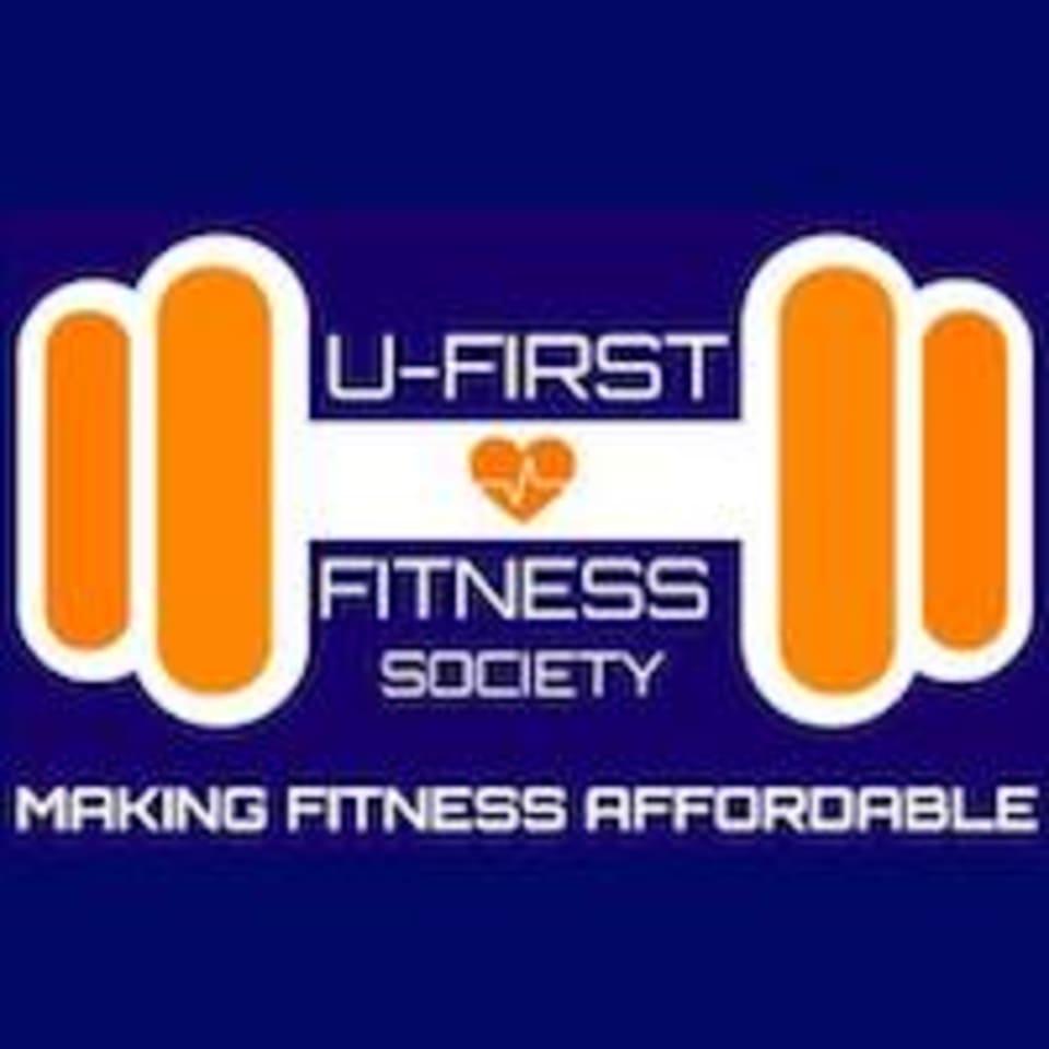 U-First Fitness Society logo