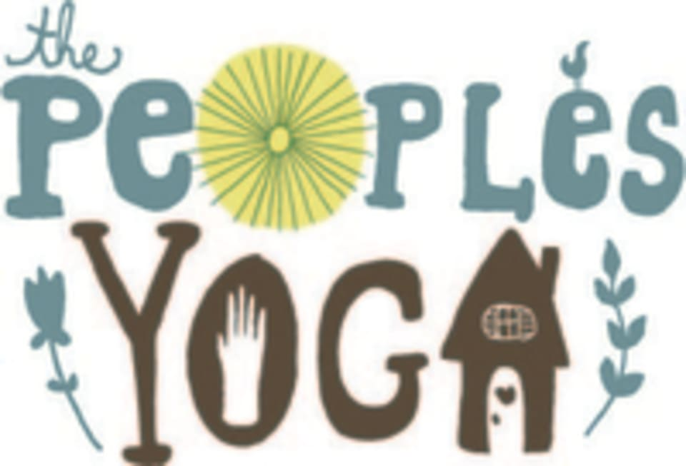 The People's Yoga logo