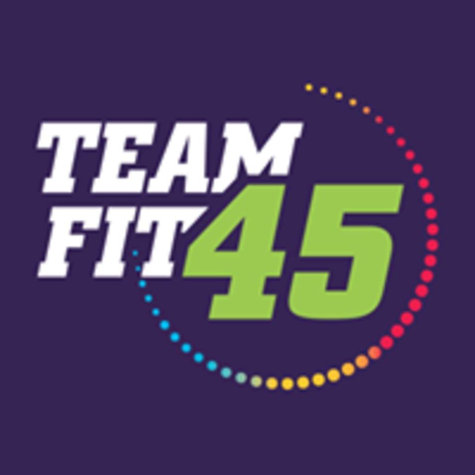 TeamFit45  logo