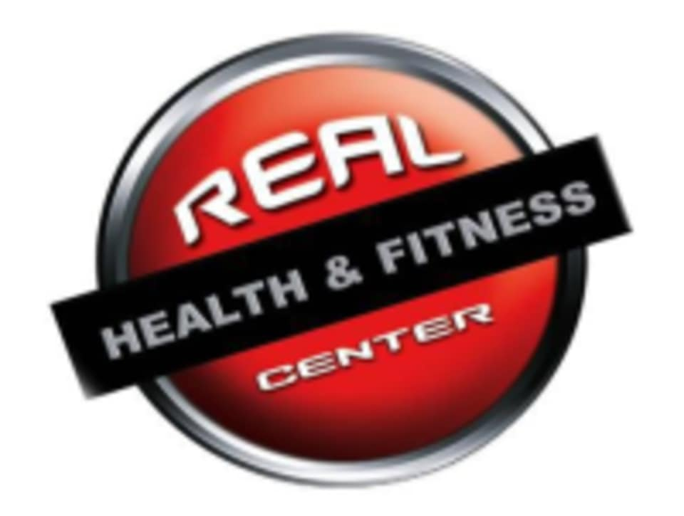 Real Health & Fitness Center logo