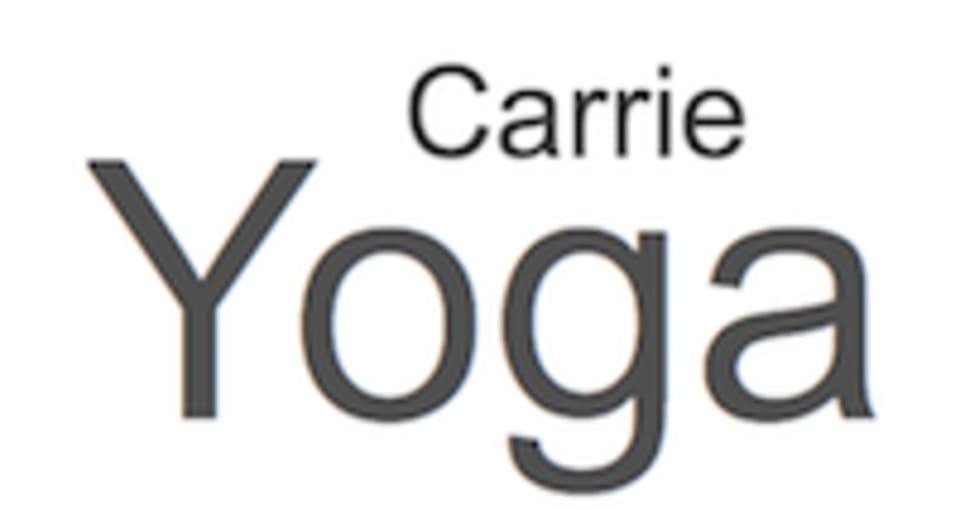 Carrie Yoga  logo