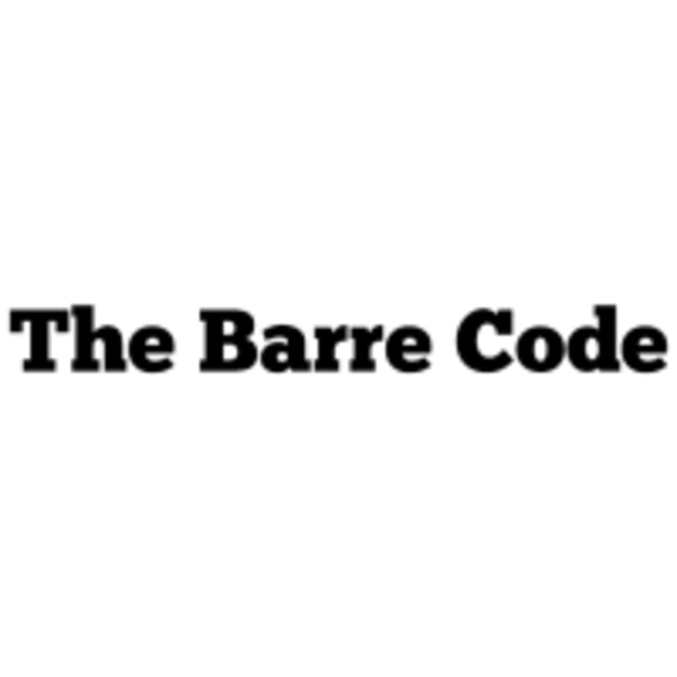 The Barre Code logo