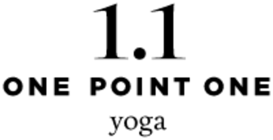One Point One Yoga logo