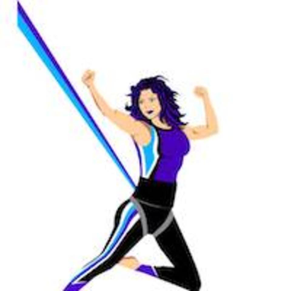 Flyin Into Fitness Bungee Studio logo