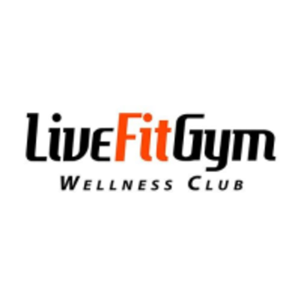Live Fit Gym and Wellness Spa logo