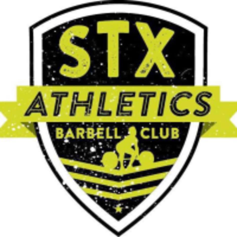 STX Athletics & Barbell Club logo