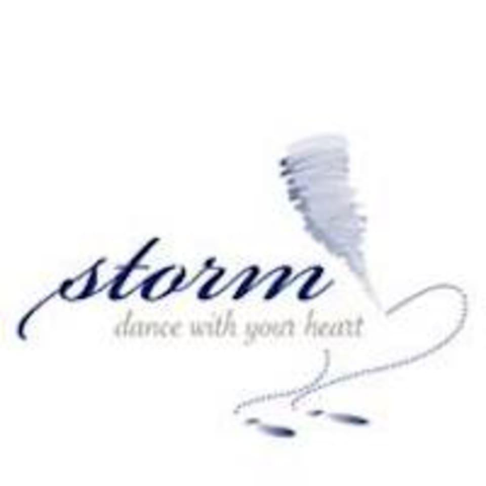 Storm Ballroom Dance logo