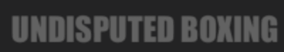 Undisputed Boxing logo