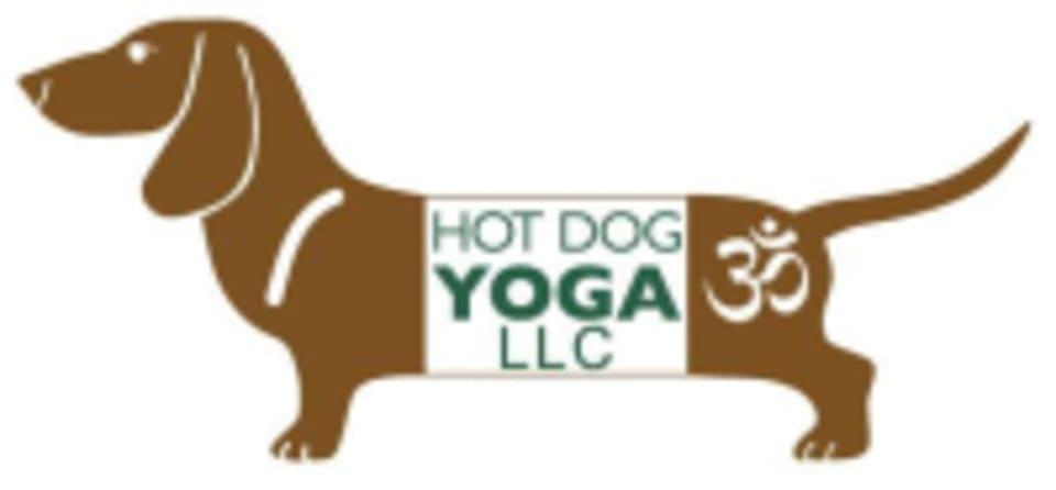 Hot Dog Yoga logo