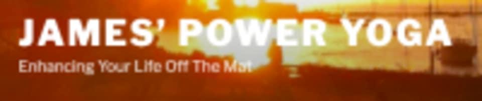 James' Power Yoga logo