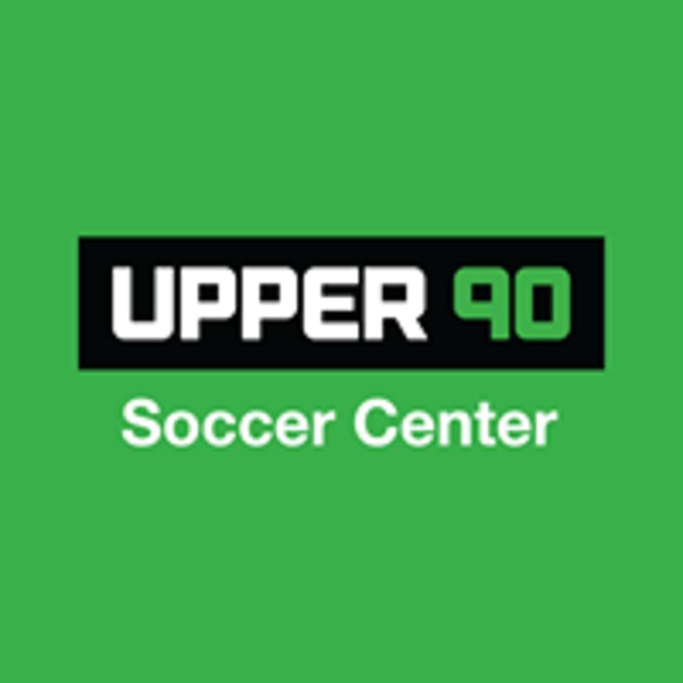 Upper 90 Soccer Center logo