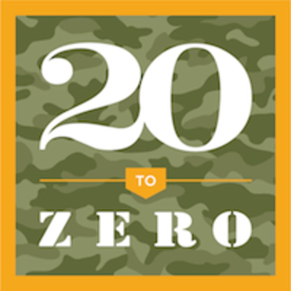 20 to Zero logo