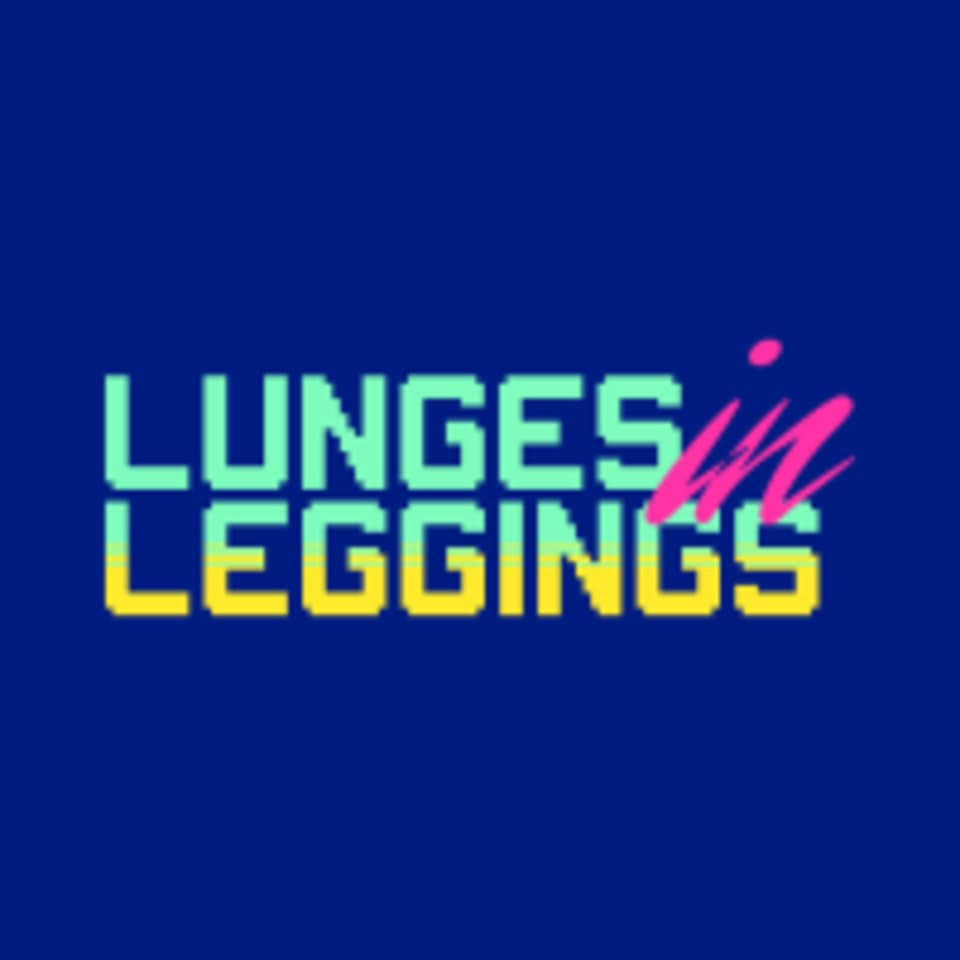 Lunges in Leggings logo