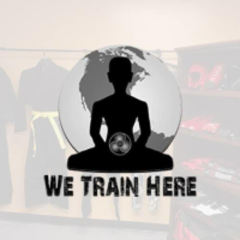 We Train Here  logo