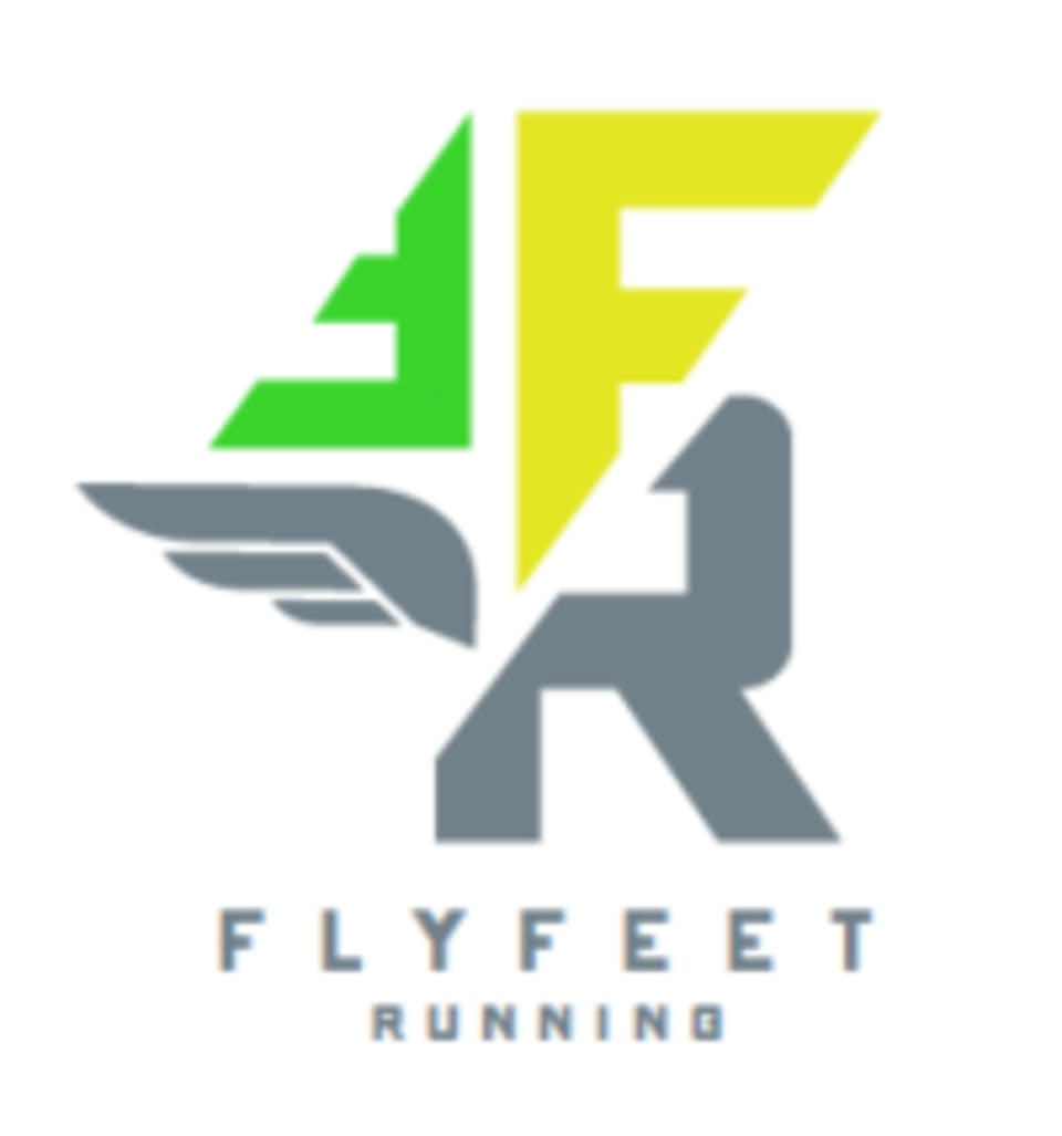 Fly Feet Running logo