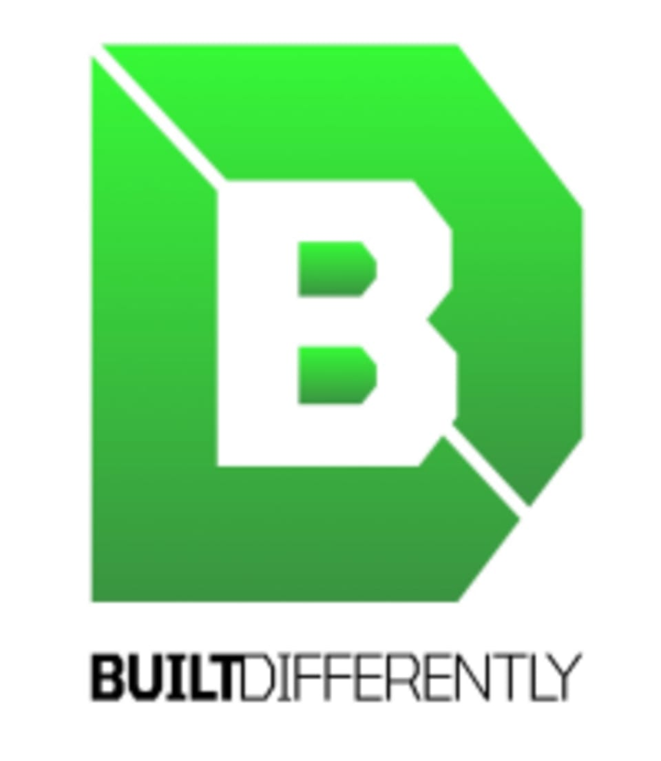 Built Differently logo