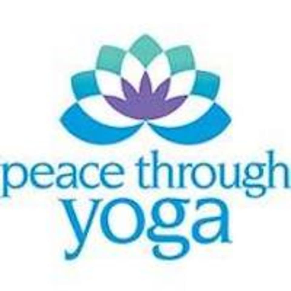 Peace Through Yoga logo