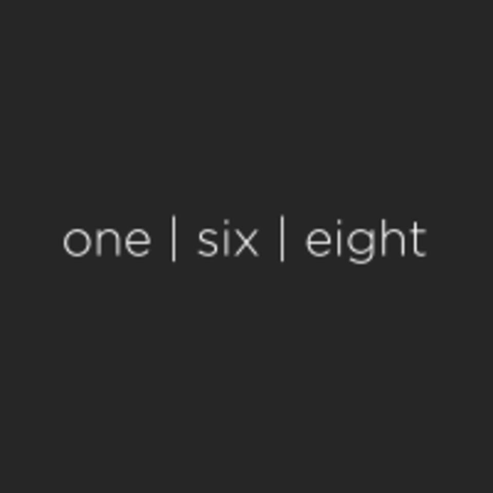 One Six Eight logo