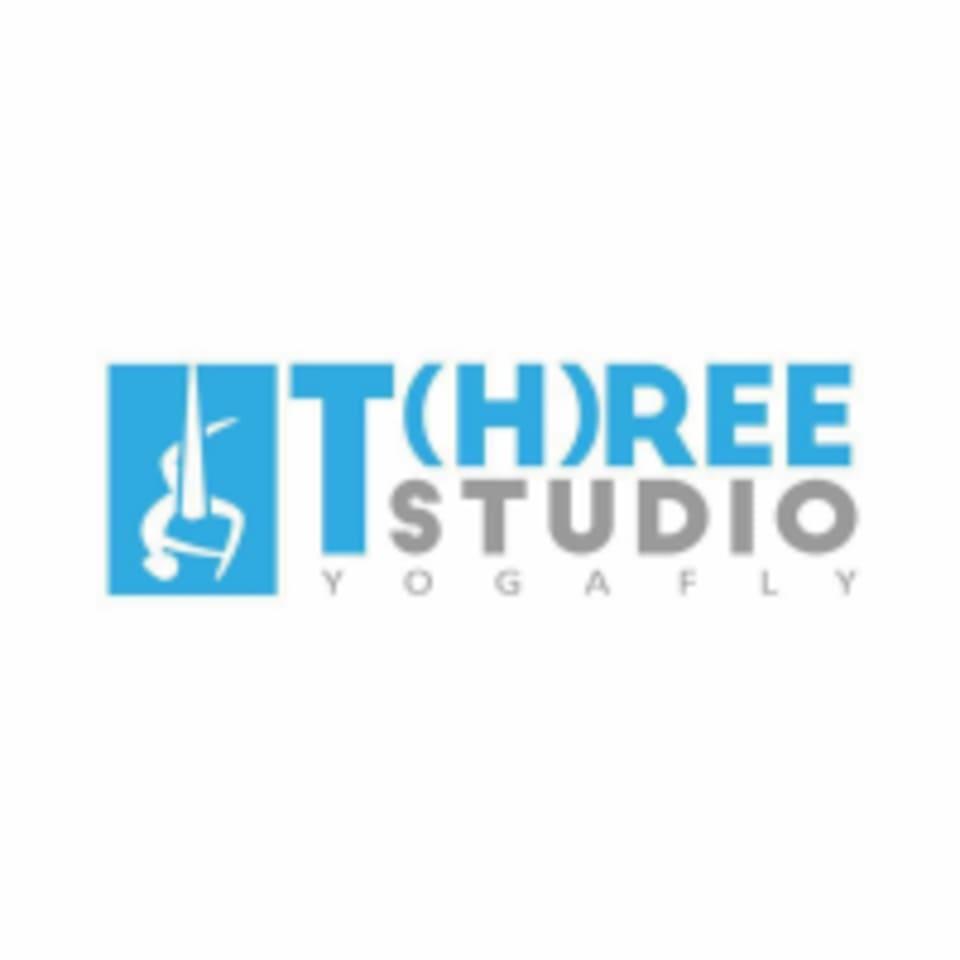 Three Studio / Pilates & Yoga Fly Studio logo